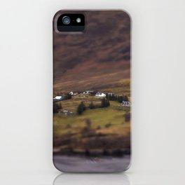 New Years Day, one year in Ullapool. iPhone Case