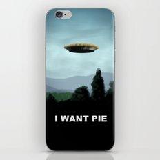 I Want Pie iPhone & iPod Skin