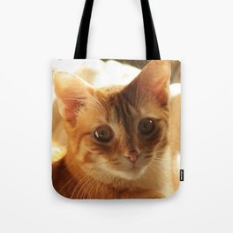 Lovely Eyes Tote Bag