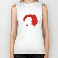 pennywise Biker Tanks featuring Pennywise by KlatuCorp