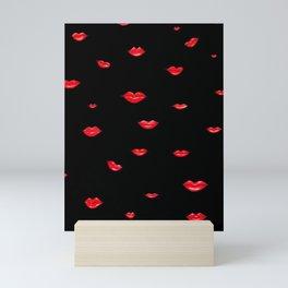 Red Lips II Mini Art Print