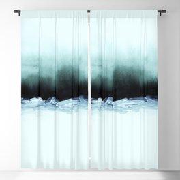 nordic shores 1 Blackout Curtain