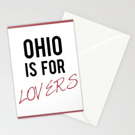 OHIO is for lovers Stationery Cards