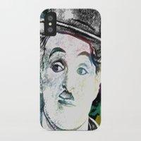 chaplin iPhone & iPod Cases featuring Chaplin by Marian - Claudiu Bortan