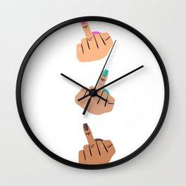 Untitled (MFer) Wall Clock