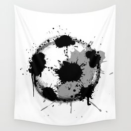 Grunge football ball Wall Tapestry