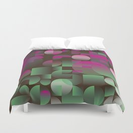 winter pattern Duvet Cover