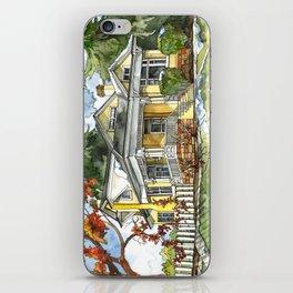 The Autumn House iPhone Skin