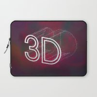 3d Laptop Sleeves featuring 3D by Andra Vlasceanu