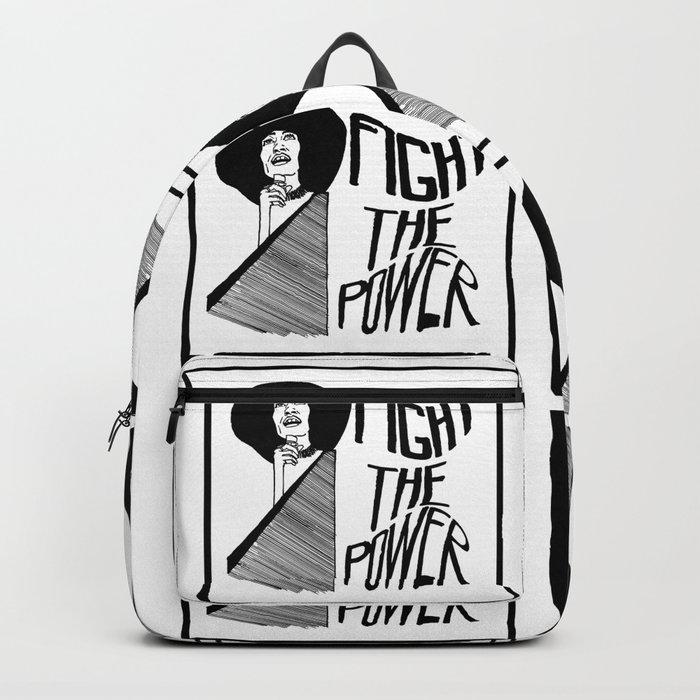 Fight the Power: Angela Davis Backpack