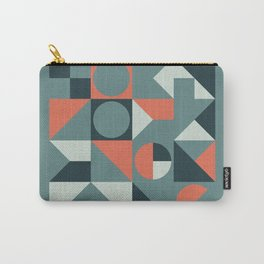 Mid Century Geometric 08 Carry-All Pouch