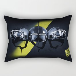 Never Stop Riding Rectangular Pillow