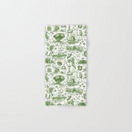 "Zelda ""Hero of Time"" Toile Pattern - Kokiri's Emerald Hand & Bath Towel"