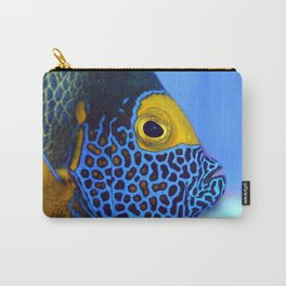 Blue-faced Angelfish Carry-All Pouch