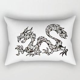 dragon fire Rectangular Pillow