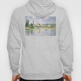 Vetheuil in Summer 1880 by Claude Monet Hoody