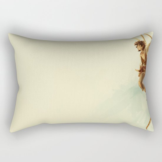 pirate leo Rectangular Pillow