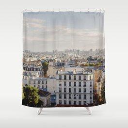 Paris Montmartre Shower Curtain