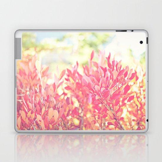 Burst of Red Laptop & iPad Skin