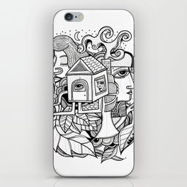 Fiction iPhone Skin
