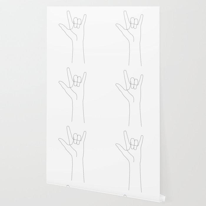 Love Hand Gesture Wallpaper