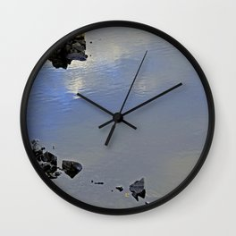 Floating Stones Wall Clock