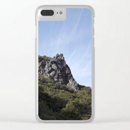 Mt. Tamalpais Rocks Clear iPhone Case