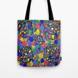 Spiral Discography Tote Bag