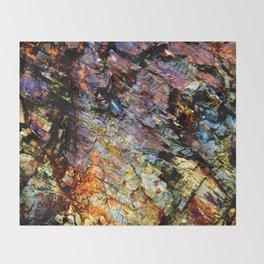 Spectrum Rock Throw Blanket