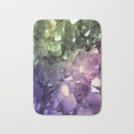 Two Tone Crystal Geode Bath Mat