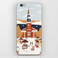 vermont iPhone & iPod Skins featuring Burlington, Vermont by Sam Brewster