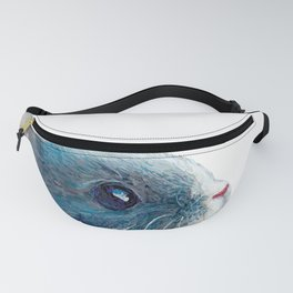 cute bunny illustration Fanny Pack