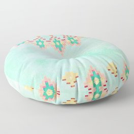 FESTIVAL VIBES -CALI SUMMER Floor Pillow