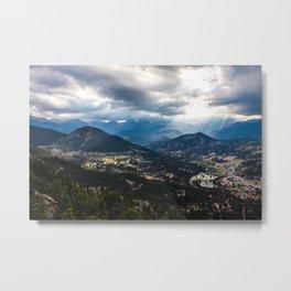 Estes Park, Colorado Metal Print
