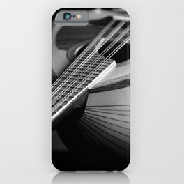 Mandolin Portrait 3 iPhone Case
