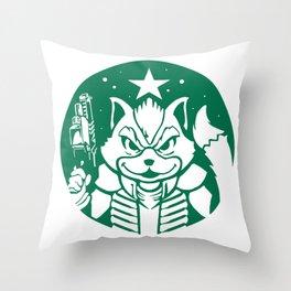 Starfox Coffee Throw Pillow