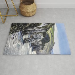 Travel to Ireland: A Castle View Rug