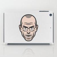 steve jobs iPad Cases featuring STEVE JOBS by Kojó Tamás