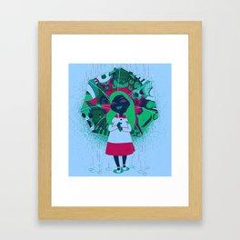 Alice's Wonder Gift Framed Art Print