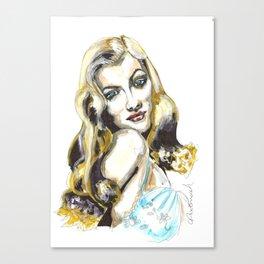 Veronica Lake Canvas Print