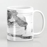 mirror Mugs featuring Mirror by Skye Rao