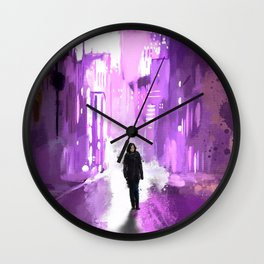 Jessica Jones Wall Clock