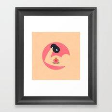 Love Mom Framed Art Print