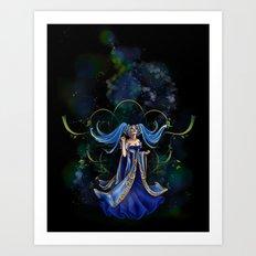 Sona Art Print