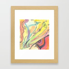 #011 - Out There Framed Art Print