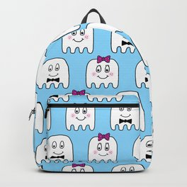 Cute Ghost Couple Backpack