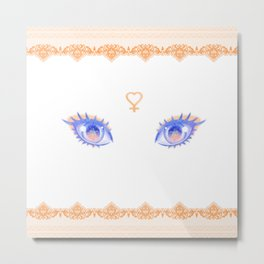 Sailor Venus Eyes Metal Print