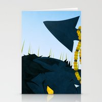 nightcrawler Stationery Cards featuring Wagner's Tail by modHero