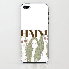 HAIM iPhone & iPod Skin