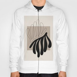 Matisse leaf poster, abstract modern art, framed matisse print, eclectic plant wall decor Hoody